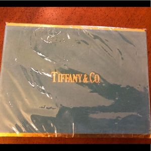 Tiffany & Co boxed playing cards